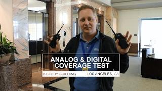 Two-Way Radio Coverage Test - Analog Vs Digital