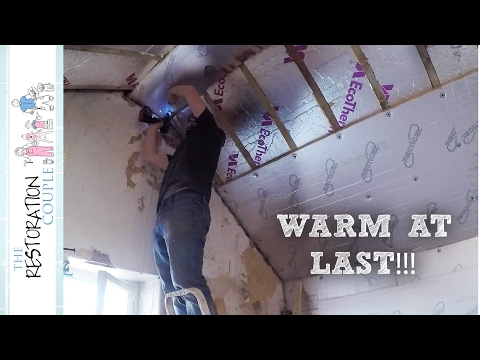 Insulating Between & Under Rafters | Loft Conversion Project 4.0