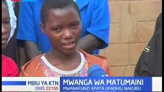 Mwanga wa matumaini kwa mwanafunzi aliyepata ufadhili Nakuru