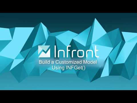 Video: Infront Excel Tutorial 5 - Build a Customized Model Using INFGet()