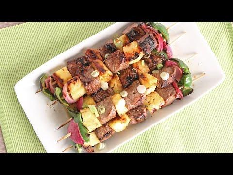 Teriyaki Beef Skewers Recipe   Episode 1075
