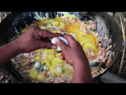 Video Egg Fried Rice - Using 101 Eggs - Country Foods
