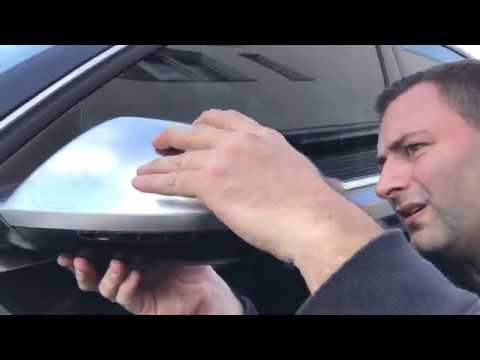 AUDI A6 C7 2011-2015 HOW TO INSTALL MIRROR COVERS www.carner.gr