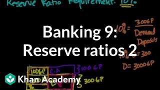 Banking 9: More on Reserve Ratios (Bad sound)