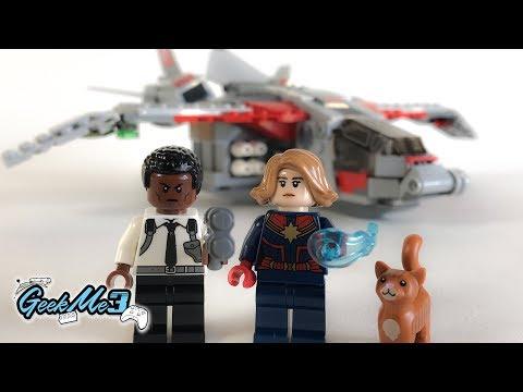 Vidéo LEGO Marvel Super Heroes 76127 : Captain Marvel et l'attaque du Skrull