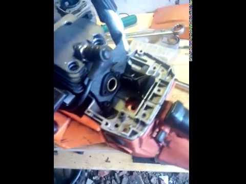 Ремонт китайской бензопилы Husqvarna 5200 -1часть
