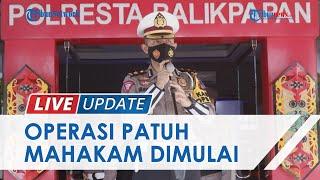 Cegah Klaster Covid-19 Baru, Polresta Balikpapan Mulai Operasi Patuh Mahakam 2021