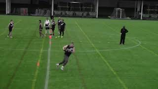 2021 National Scouting Combine TE Position Drills