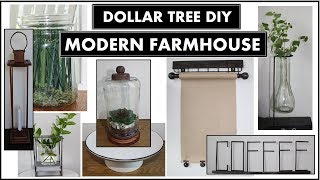 8 DOLLAR TREE DIY MODERN FARMHOUSE DECOR IDEAS 2020 | MAGNOLIA Inspired