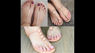 Beautiful And Stylish Flat Sandals For Girls