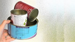 6 AWESOME IDEAS FROM CANS