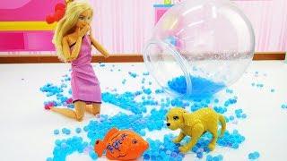 Барби купила аквариумную рыбку - Видео для девочек