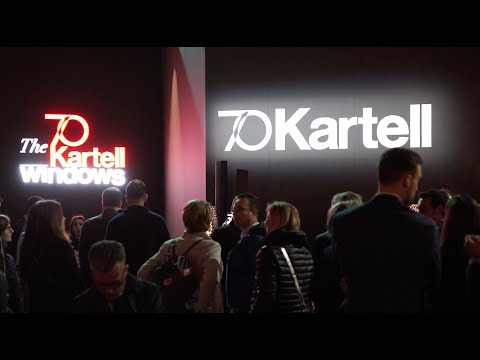 The Kartell Windows at Salone del Mobile 2019
