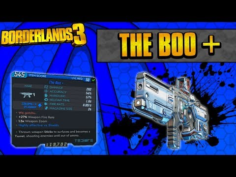 Borderlands 3 | The Boo+ Unique Weapon Guide (Guns With Legs!)