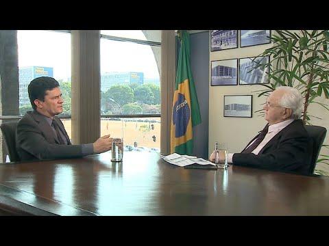 Boris Casoy entrevista Sergio Moro (11/10/19...