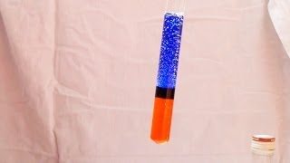 Flag in a test tube