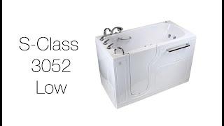 S-Class3052 Low Threshold Walk-In Tub Video