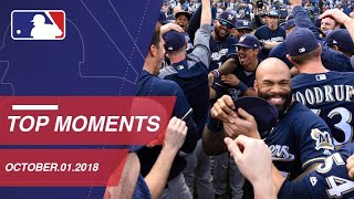 Top 10 Moments of the Day - October 1, 2018