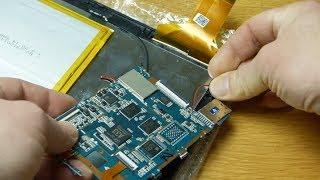 Digitizer replacement on a Denver tablet