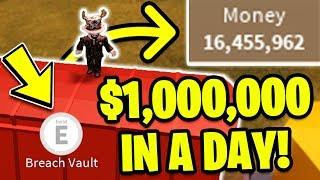 *NEW METHOD!* HOW TO GET 1 MILLION DOLLARS FAST! (Roblox Jailbreak) | MyUsernamesThis Route