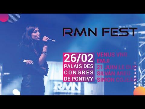 RMN-Fest #4 ft. Simon Cojean, Emji, Silvàn Areg, 21 juin le duo & Venus VNR