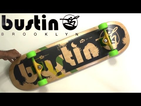 Skateboard Review: 2012 Bustin Boards Yoface