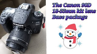 Canon 90D with Canon 18-55mm Kit Lens