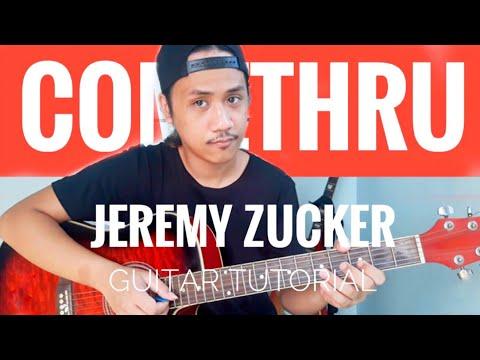 Comethru GUITAR CHORDS | FINGERPICKING TUTORIAL - Jeremy Zucker
