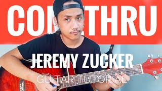 Comethru GUITAR CHORDS   FINGERPICKING TUTORIAL   Jeremy Zucker