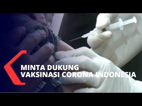 Harlah NU ke-98, Jokowi Minta Dukung Vaksinasi Corona Indonesia