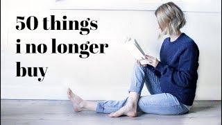 50 THINGS I DON