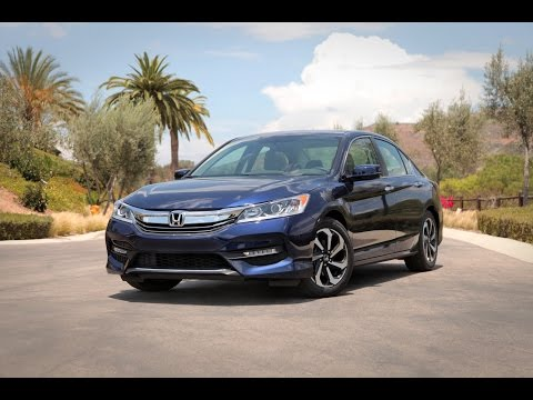 2016 Honda Accord Review - First Drive