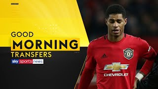 Are Man Utd going to sign a striker following Marcus Rashford's injury? | Good Morning Transfers