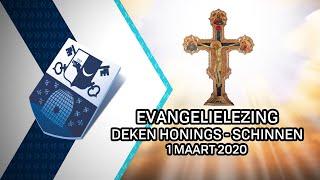 Evangelielezing deken Honings Schinnen – 1 maart 2020 - Peel en Maas TV Venray