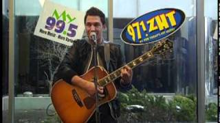 "Andy Grammer performs ""Lunatic"" at My 99.5"