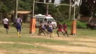 preview picture of video 'URU 2014 U19 girls 7s highlights pool stages - Entebbe, Uganda'