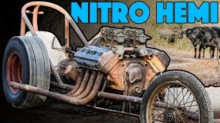 Front Engine Dragster Hidden in the Woods (we bought it!) - Hot Rod Hoarders Ep. 9