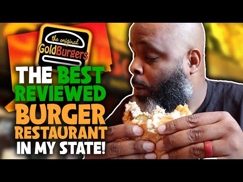 Eating At The BEST Reviewed BURGER Restaurant In My State | SEASON 2