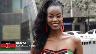 Evelyn Njambi Contestant from Kenya for Miss World 2016 Introduction