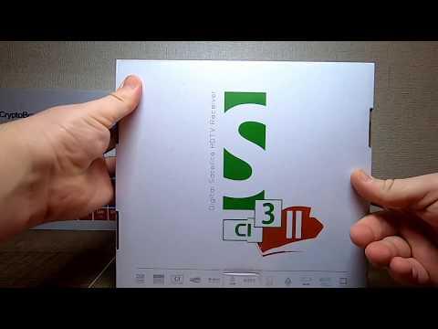 Распаковка ресивера Openbox S3 CI HD II
