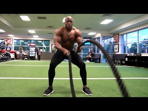 Bobby Lashley is training to be in the best shape of his life for WWE Super Show-Down