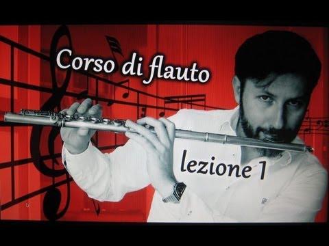 Corso di flauto traverso per principianti - lezione 1