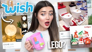I TRIED CHEAP CHRISTMAS GIFTS FROM WISH... IS IT WORTH THE MONEY!?