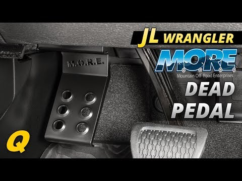 Mountain Offroad Dead Pedal For The Jeep Wrangler JL