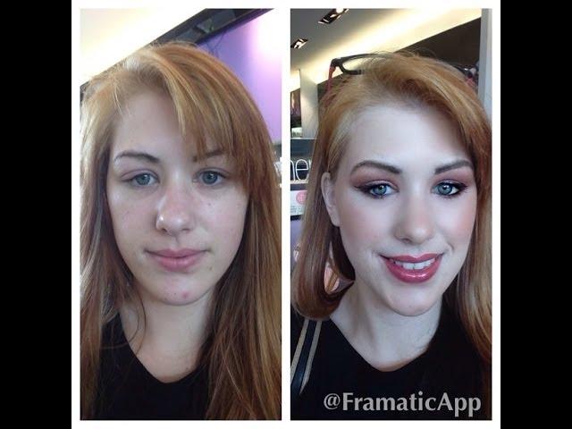 Getting Makeup Done At Sephora Natural