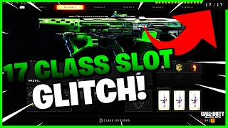 *WORKING* HOW TO GET 17 CLASS SLOTS IN LEAGUE PLAY ON BLACK OPS 4 (UPDATE 1.16) (BO4 GLITCH)