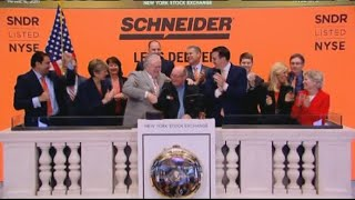 SCHNEIDER IC ANNUAL BUSINESS REVIEW