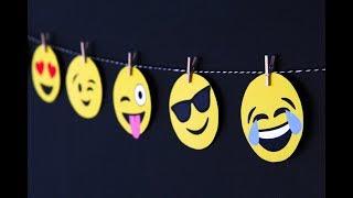 EMOJI PARTY IDEAS  / whatsapp party / 20 ideas para fiesta de emojis