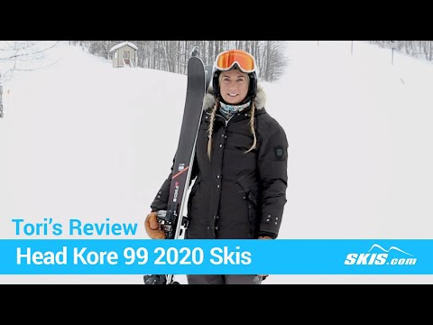 Video: Head Kore 99 W Skis 2020 21 50