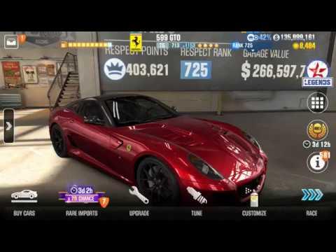 By Photo Congress    Csr 2 Ferrari 250 Gto Tune